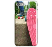 Cruiser boards on a bridge iPhone Case/Skin