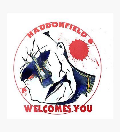 Haddonfield Welcomes You Photographic Print