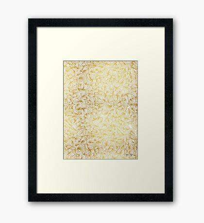 Knee-Deep in Gold Ink Framed Print