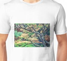 Colorful Forest of Kanagawa Unisex T-Shirt