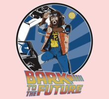 Bark to the Future Kids Tee