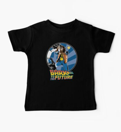 Bark to the Future Baby Tee