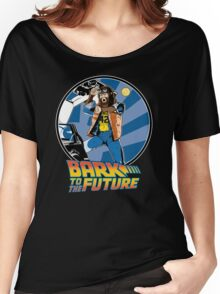 Bark to the Future Women's Relaxed Fit T-Shirt