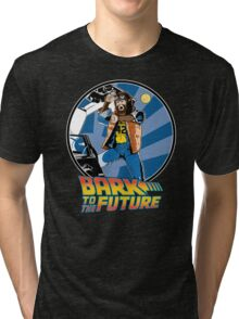 Bark to the Future Tri-blend T-Shirt