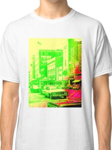 Lemon-Lime Downtown Youngstown - The 1960s Classic T-Shirt