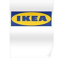 IKEA logo Poster