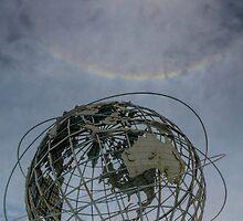 Rainbow over the Unisphere by njordphoto