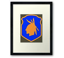 98th Infantry Division/Training Division 'Iroquois' (United States) Framed Print