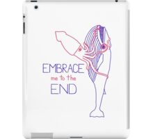 Embrace Me to the End iPad Case/Skin