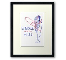 Embrace Me to the End Framed Print
