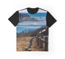 Coast Of Long Island - A View From Shadmoor State Park | Montauk, New York Graphic T-Shirt