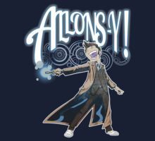 Allons-Y! - Brown Suit by Douggiedoo