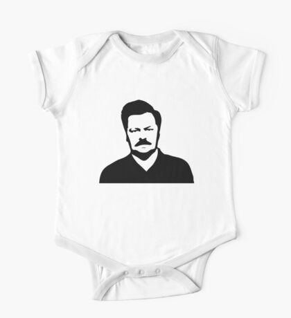 Ron Swanson - Parks and Recreation One Piece - Short Sleeve