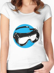 Goggles Women's Fitted Scoop T-Shirt