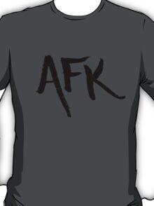 AFK - Black T-Shirt