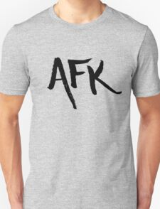 AFK - Black Unisex T-Shirt
