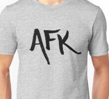 AFK - Black Unisex T-Shirt