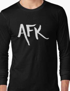 AFK - White Long Sleeve T-Shirt