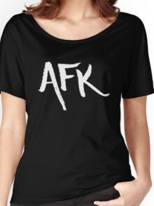 AFK - White Women's Relaxed Fit T-Shirt