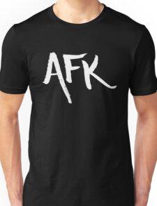 AFK - White Unisex T-Shirt