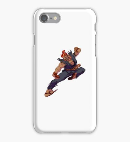 Akuma Demon Flip Sticker iPhone Case/Skin