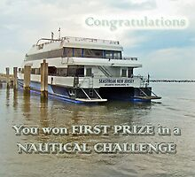 1st prize banner - nautical challenge by MotherNature