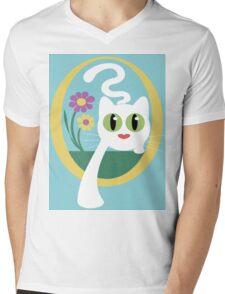Here I Come Mens V-Neck T-Shirt