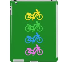 Four Small Bicycles Together iPad Case/Skin