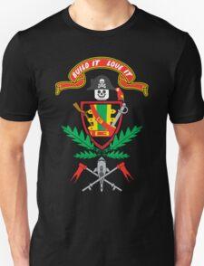"""Old School Family Crest"" Unisex T-Shirt"
