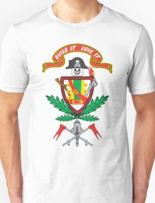 """""""Old School Family Crest"""" T-Shirt"""