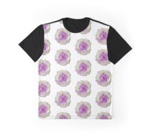 Succulent Plant - Purple Echeveria Graphic T-Shirt