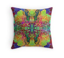 Psychedelic Dreamer Throw Pillow