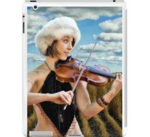 Fiddling In The Field iPad Case/Skin