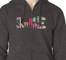 Sugar Skwiible Zipped Hoodie