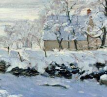 Claude Monet - The Magpie  Sticker