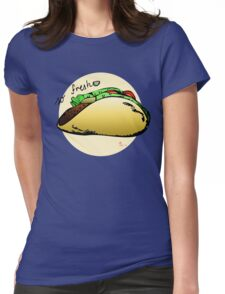So fresh - tacos with a wedge of lime Womens Fitted T-Shirt