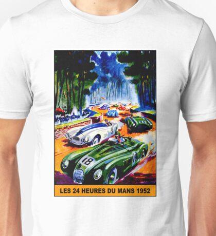 """""""DU MANS GRAND PRIX"""" Vintage Auto Racing Print Unisex T-Shirt"""