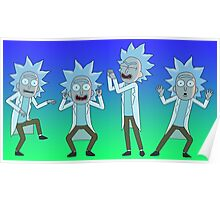 Tiny Rick Grooves To Let Me Out Poster