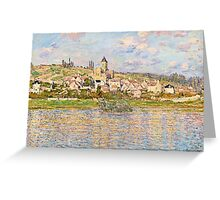 Claude Monet - Vetheuil (1879)  Greeting Card