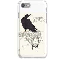 Why is a Raven like a Writing Desk? iPhone Case/Skin