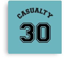 Casualty 30 Canvas Print