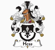Hess Coat of Arms (German) by coatsofarms