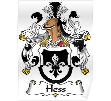 Hess Coat of Arms (German) Poster