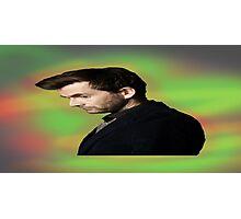 "David Tennant ""hippie"" background Photographic Print"