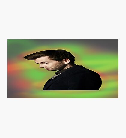 "David Tennant ""hippie"" background Photographic Print"