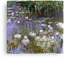 Claude Monet - Water Lilies (1922)  Canvas Print