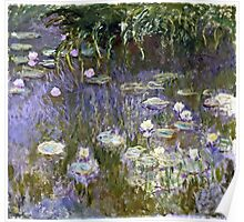 Claude Monet - Water Lilies (1922)  Poster