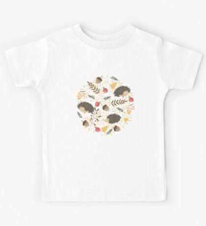 Cute hedgehogs Kids Tee