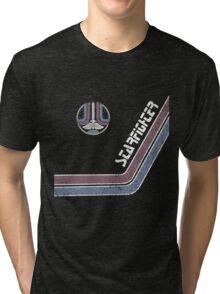 Starfighter Arcade Cabinet Tri-blend T-Shirt