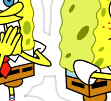 Spongebob boi Meme! Sticker